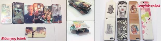 Egyedi fényképes mobiltelefon tokok műanyag és lenyithatós